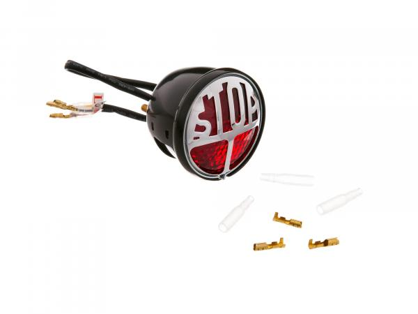 "Retro LED taillight ""STOP"""
