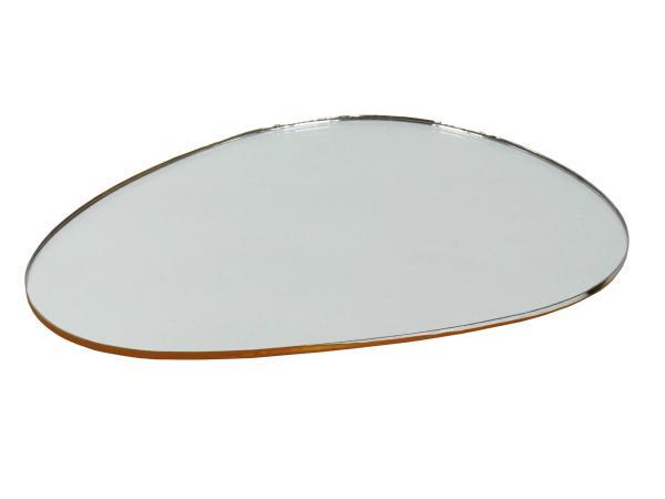 Spiegelglas, Niere-rund, links, 117 x 82mm