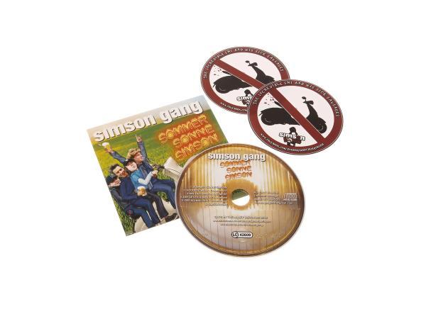 CD - Sommer Sonne Simson - SIMSON GANG