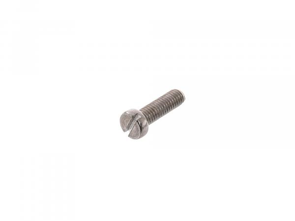 Slotted cheese head screw, stainless steel M6x20 - DIN84