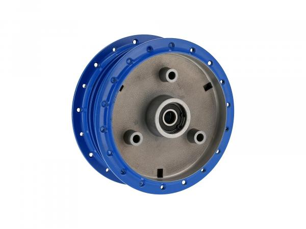 hub blue (with bearing) - for Simson S50, S51, S70, KR51, SR4-2, SR4-3, SR4-4