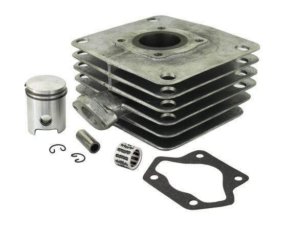 Set: 4-channel cylinder + piston + needle bearing, 70ccm - for Simson S70, S83, SR80