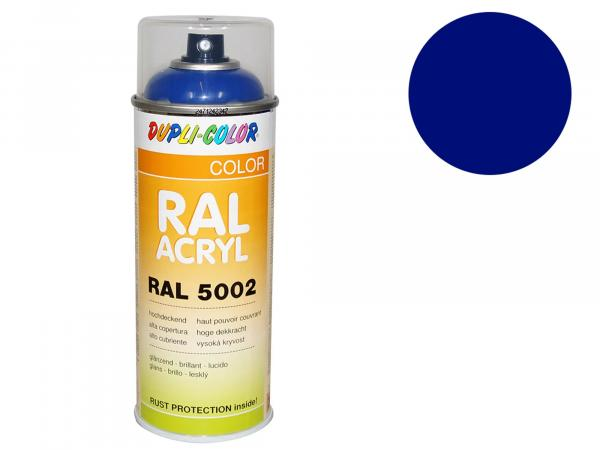 Dupli-Color Acryl-Spray RAL 5002 ultramarinblau, glänzend - 400 ml