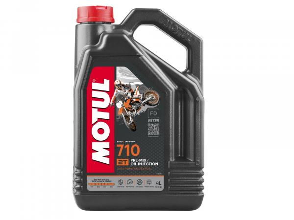 MOTUL 710 Engine oil 2T -4 Liter - Off Road