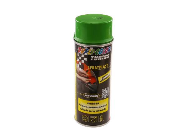 Dupli-Color Sprayplast Abziehlack, grün, glänzend - 400ml