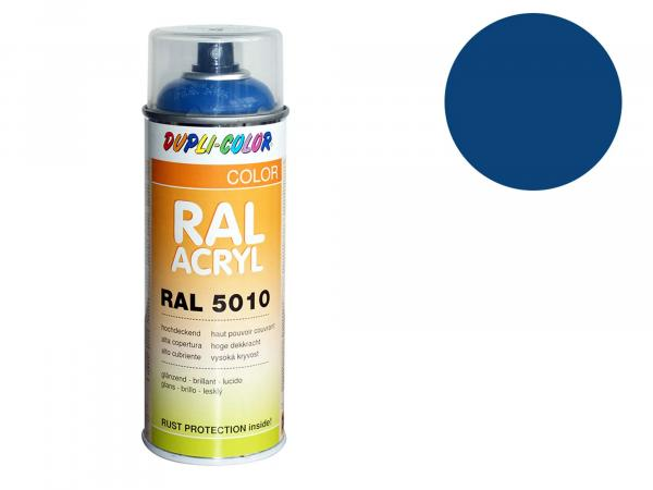 Dupli-Color Acrylic Spray RAL 5019 capri blue, glossy - 400 ml