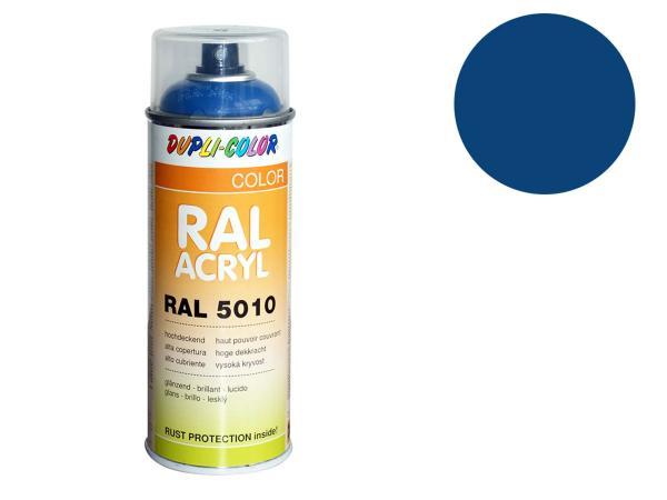 Dupli-Color Acryl-Spray RAL 5019 capriblau, glänzend - 400 ml
