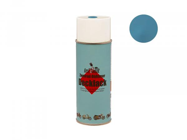 Spray can Leifalit top coat crystal blue - 400ml