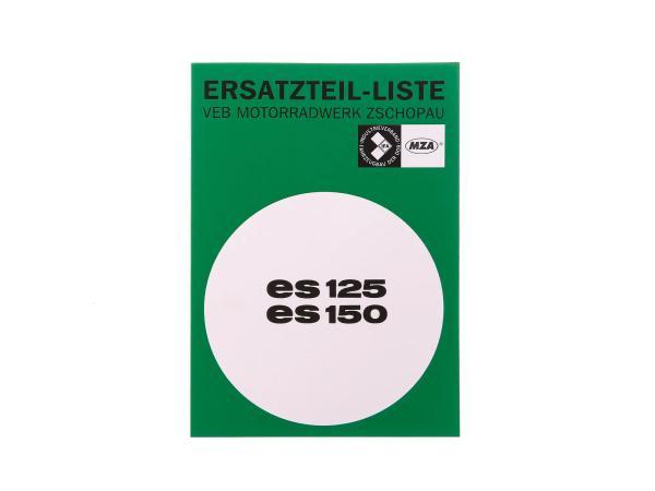10066624 Ersatzteilkatalog Ausgabe 1968 - MZ ES125, ES150 - Bild 1