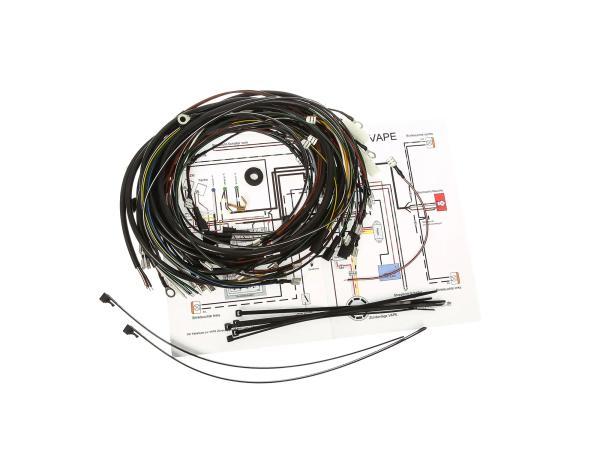 Kabelbaumset S53 für VAPE-Zündanlage mit Schaltplan