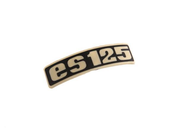 Schriftzug (Plakette aus Kunststoff) ES125