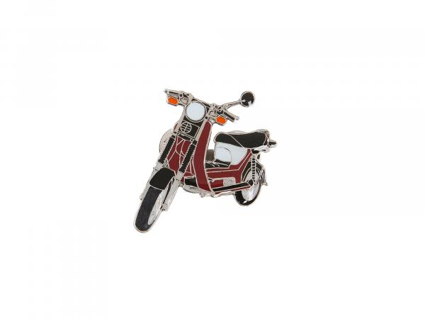 SIMSON-Pin Roller SR50 in Bordeauxrot