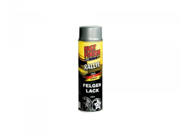 Fast Finish Car Felgenlack, silber - 500ml