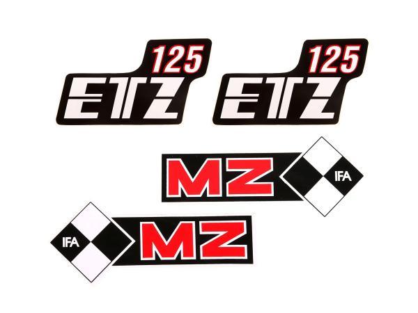SET: Klebefolie Tank + Seitendeckel ETZ 125