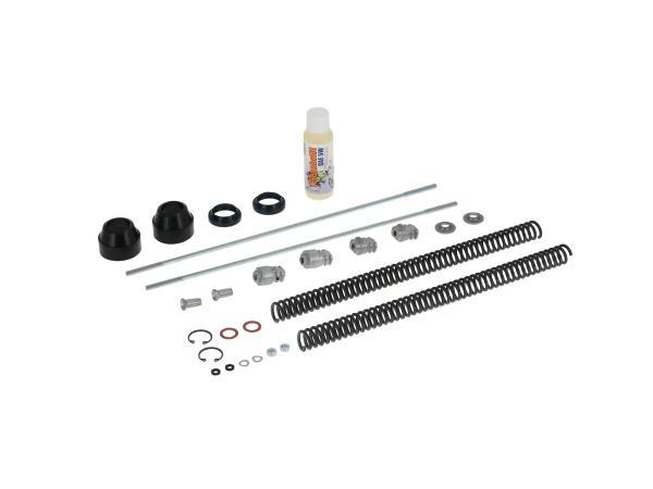 10067092 Set: Telegabel Reparatur komplett, Standard Druckfeder 3,2mm - für Simson S50, S51, S53, S70, S83 - Bild 1