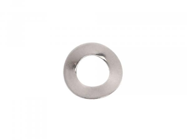 Spring washer B6-Fst-E4J (DIN 137) - corrugated - chrome-plated