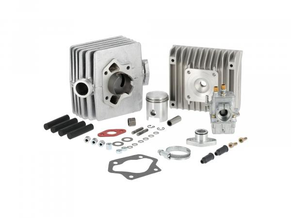 Set: Tuning 60ccm 2-channel with BING carburettor - for Simson S51, SR50