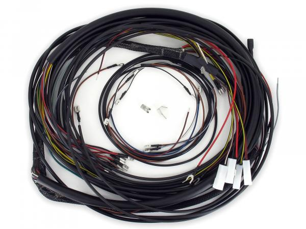 Cable harness set Duo 4/1 - for VAPE ignition system - incl. wiring diagram (coloured)