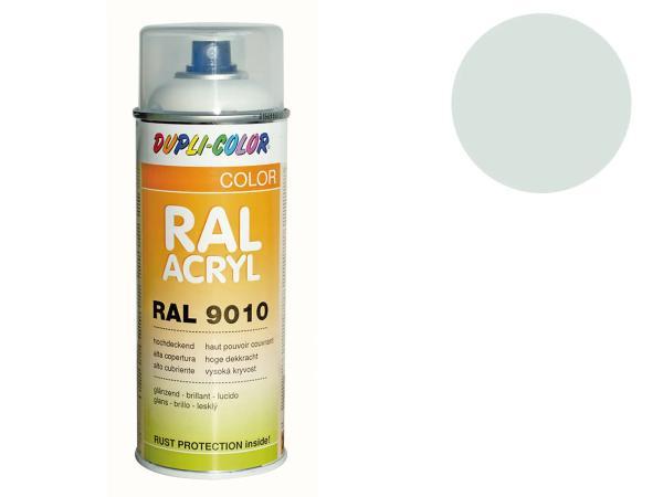 Dupli-Color Acryl-Spray RAL 9018 papyrusweiß, glänzend - 400 ml