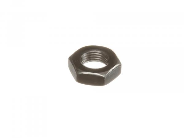 Hexagon nut M10x1 low form, blank DIN936