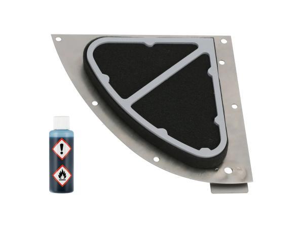 GP10000682 Sportluftfilter zweilagig + 50ml Luftfilteröl - für Simson S50, S51, S53, S70, S83 - Bild 1