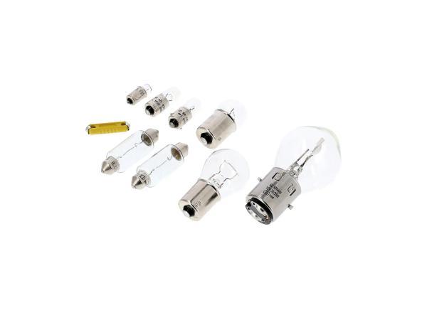 10070032 Glühlampensatz 12V 35/35W zum VAPE-Umrüstsatz - Simson Schwalbe KR51 - Bild 1