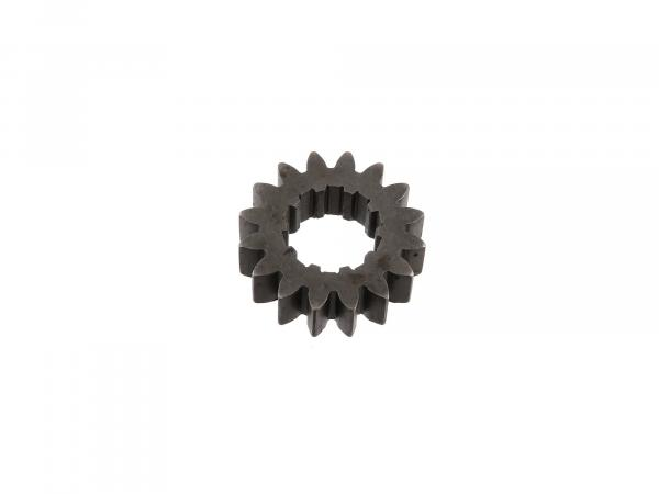 Fixed wheel 16 tooth, 2nd gear (4-speed engine) - Simson S51, KR51/2 Schwalbe