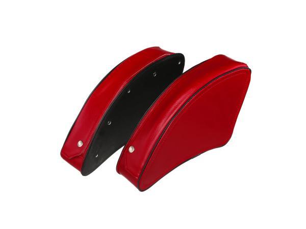 Set: Packtasche Rot links/rechts - für MZ ES175, ES250, ES300