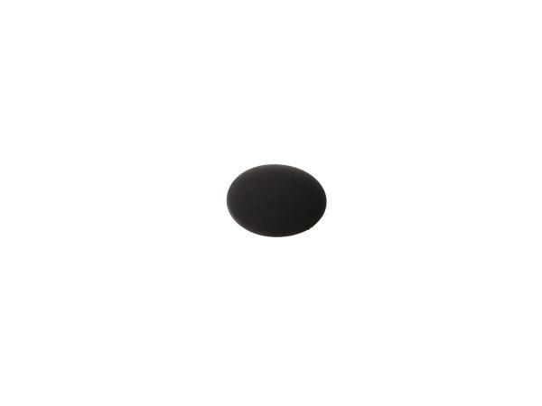 Cover plug, black, for hexagon socket screws (e.g. on valve support) - for ETZ and TS