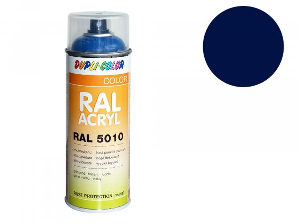 Dupli-Color Acryl-Spray RAL 5013 kobaltblau, glänzend - 400 ml