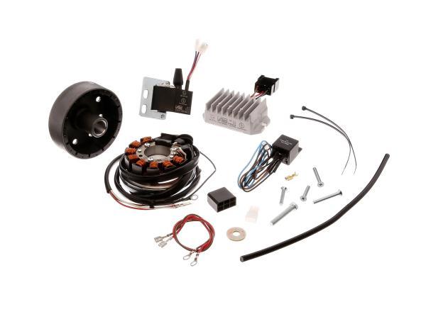 Lichtmaschine, elektronische Zündung 12V/100W Wechselstrom - DKW 125, 175, 200, 250