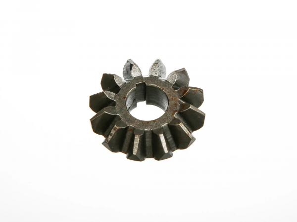 Bevel gear for starter shaft (kick starter shaft) EMW, BMW (version with Woodruff keyway)