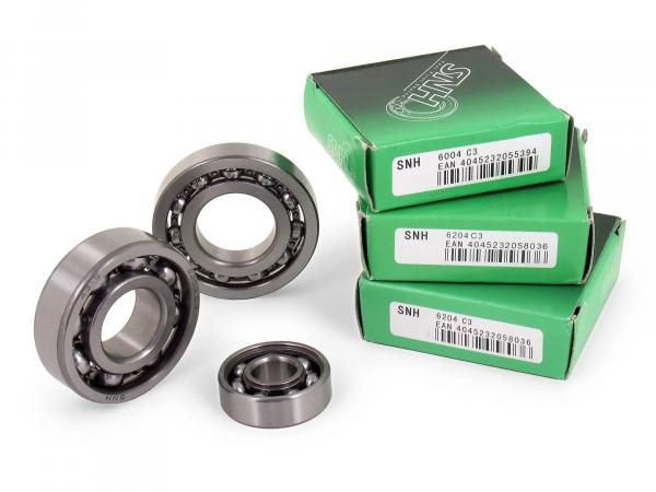 Set: ball bearing motor M531-M754 - for Simson S51, S70, S53, S83, KR51/2 Schwalbe, SR50, SR80