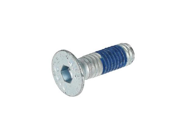 10070030 Senkschraube, Innensechskant M6x20 selbstsichernd - DIN7991 - Bild 1