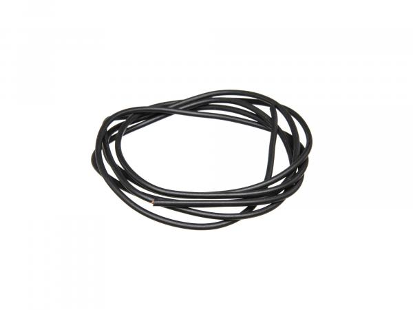 Cable - Black 0,50mm² Automotive cable - 1m