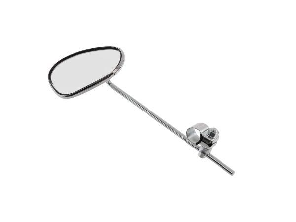 Spiegel - oval, Stabspiegel mit Befestigungsschelle Ø22mm passend für AWO