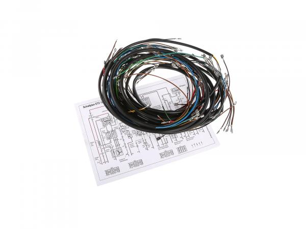 Cable harness set for ETZ 125,150,250 standard