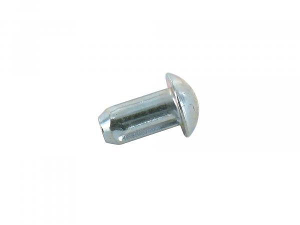 Notched nail 5x10 for handlebar lock cover - Simson S53, S83