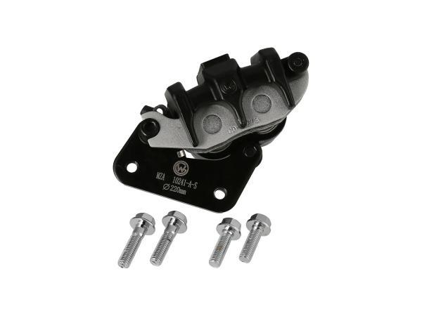 10069500 Bremssattel vorn, Doppel-Kolben - für 220mm Bremsscheibe - Bild 1