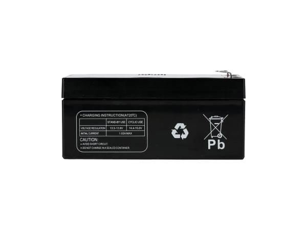 10069892 Batterie 12V 3,4Ah Multipower (Gelbatterie) - Bild 1