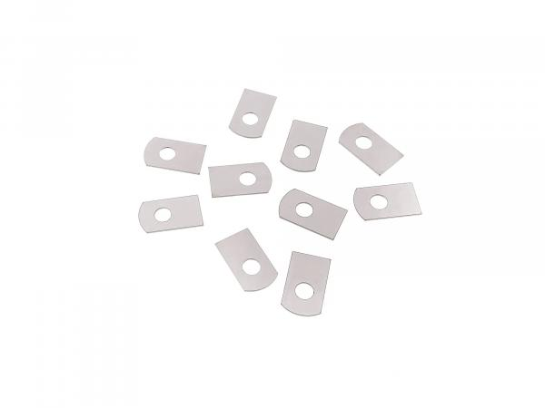 SET -10 pieces- locking plate cover cardan housing BK350