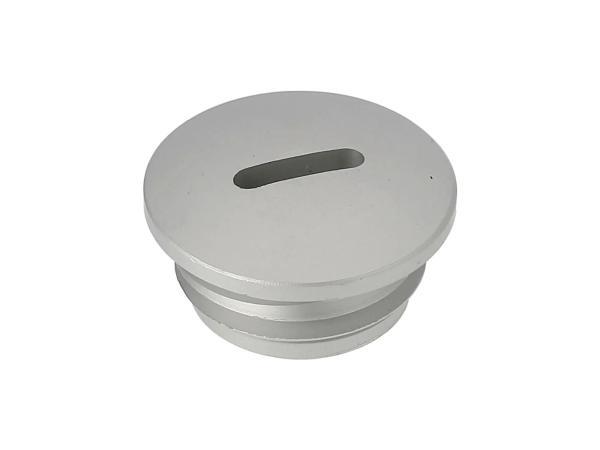 Verschlussschraube, Aluminium Silber matt eloxiert (Kupplungseinstellung), ohne O-Ring