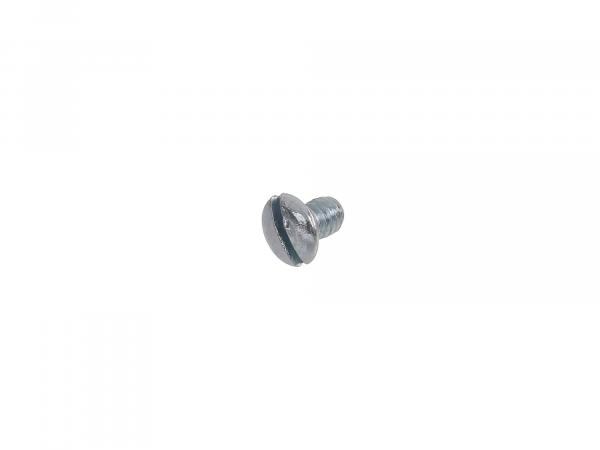 Slotted raised countersunk head screw M4x6 - DIN964