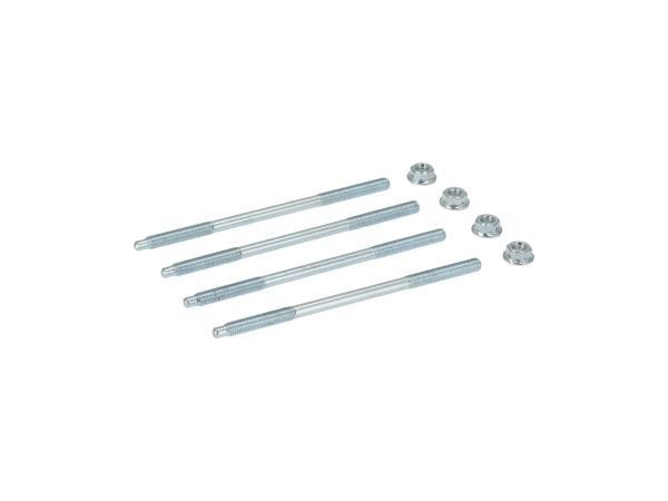 10070422 Set: 4x Zuganker - M6x126mm M531, M541, M741 - KR51/2 Schwalbe, S51, S53, S70, S83, SR50, SR80 - Bild 1