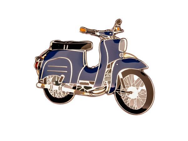 10002892 SIMSON-Pin Schwalbe in Blau - Bild 1