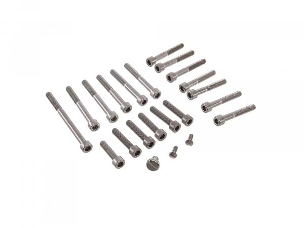 Set: Cylinder head screws, hexagon socket motor in stainless steel KR51/1