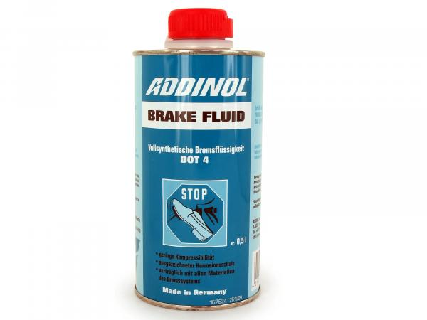 ADDINOL Brake Fluid DOT4 - Brake fluid - 0,5l