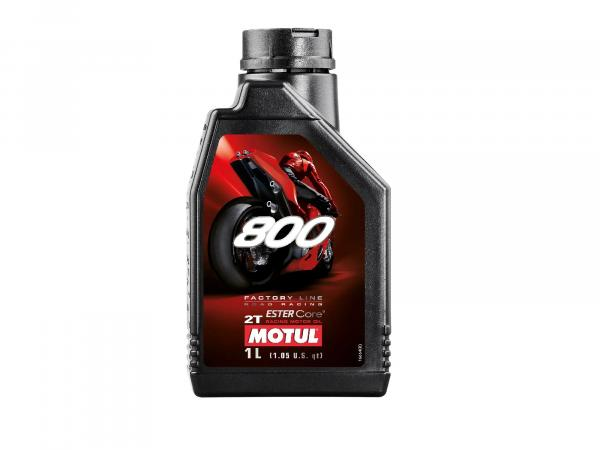 10016667 MOTUL - 800 Motoröl 2T -1 Liter - Road Racing - Bild 1