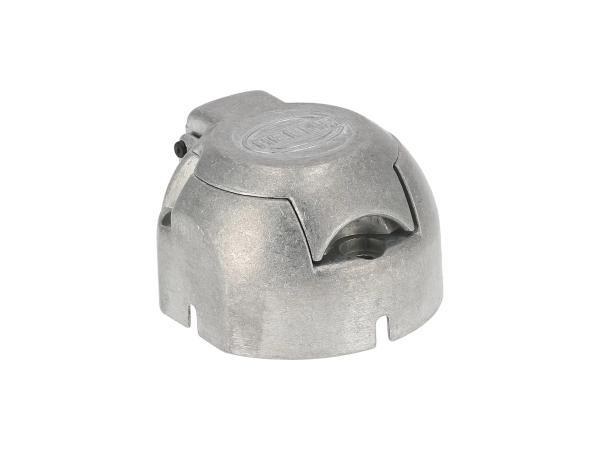 10055606 Steckdose, 7-polig für Anhänger, aus Metall - Bild 1