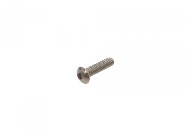 Flat head screw, hexagon socket M5x20 - DIN7380